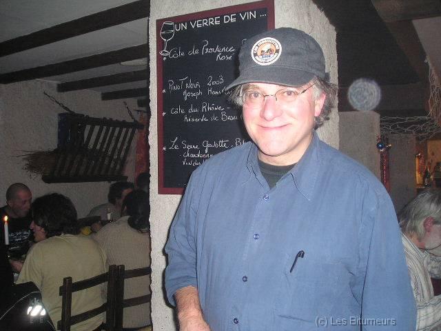 Les Marmottes d'hiver 2006 034 Pierre Vedel, le sympatique organisateur, toujours souriant...